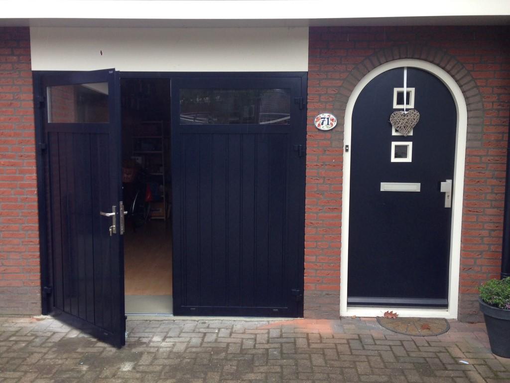 kunststof garagedeuren mogelijkheden