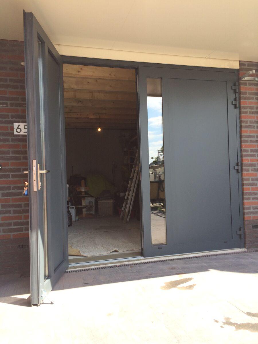 openslaande deuren ral 7016 in amersfoort different doors