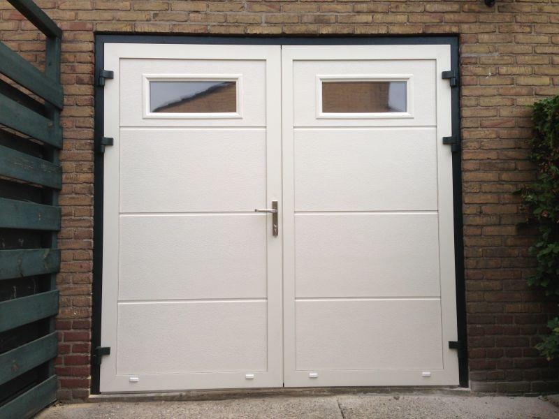 openslaande deuren met ramen plexiglas
